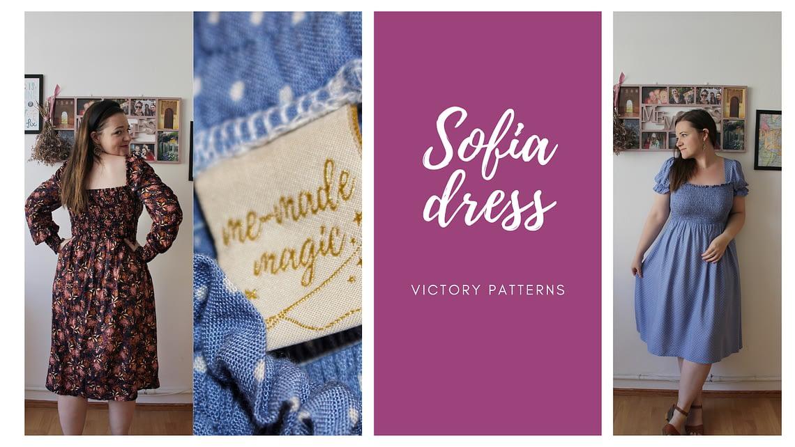 Sofia dress cover
