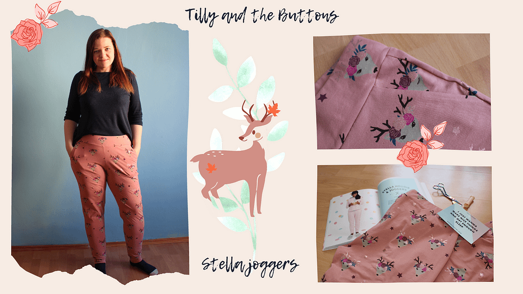 Tilly and the Buttons Stella Joggers