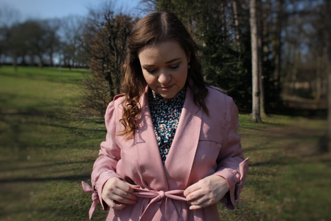 Burdastyle 04/2018 trench coat